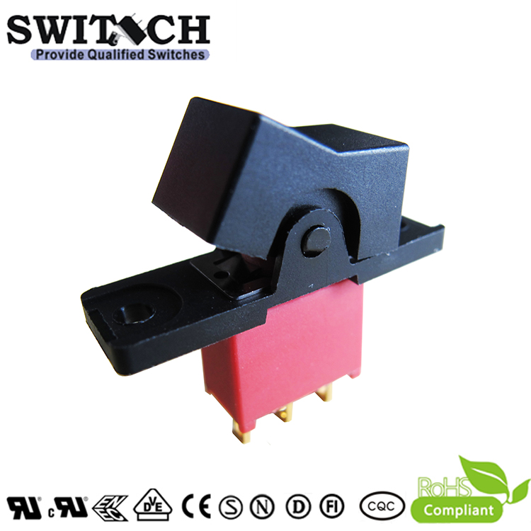3AS1SWR102M1RES free sample ON-OFF 3 pins round waterproof rocker switch