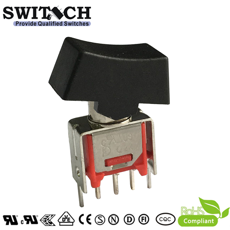 4MS1R102VS2QES free sample ON-OFF 3 pins round waterproof rocker switch