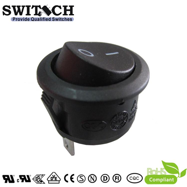 KAN-B2-25P71V-B 2 pins ON-OFF SPST rocker switch used for panasonnic vacuum cleaner