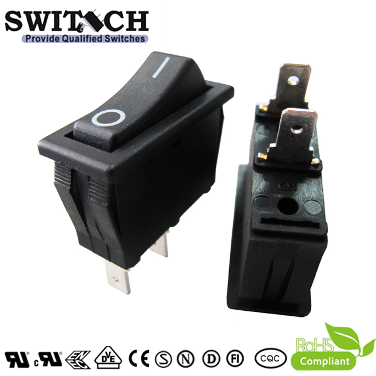 KAN-D3-6 side edge terminal ON-OFF SPST rocker switch for power tools