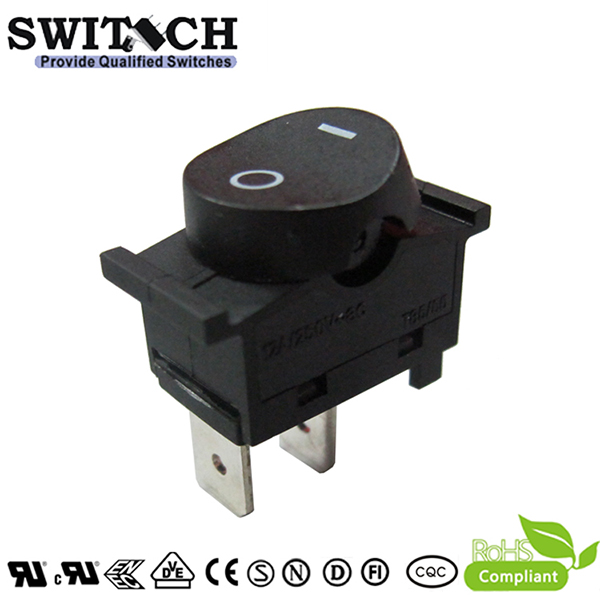 KAN-D4 paddle switch 12A 2 pins ON-OFF SPST rocker switch