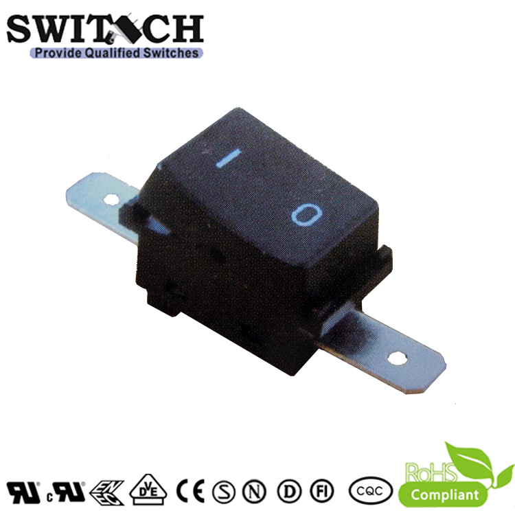 KAN-D6 side edge terminal ON-OFF SPST rocker switch for power tools