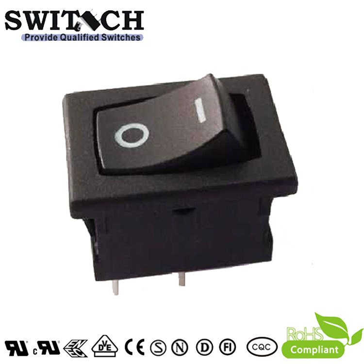 KAN-D7-SW02-A-BB paddle switch 2 pins ON-OFF SPST good quality rocker switch for vacuum cleaner robot