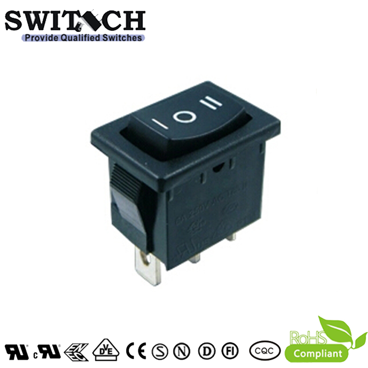 KAN-D7-SW1 paddle switch 3 pins 0-1-2 STDP three greans rocker switch