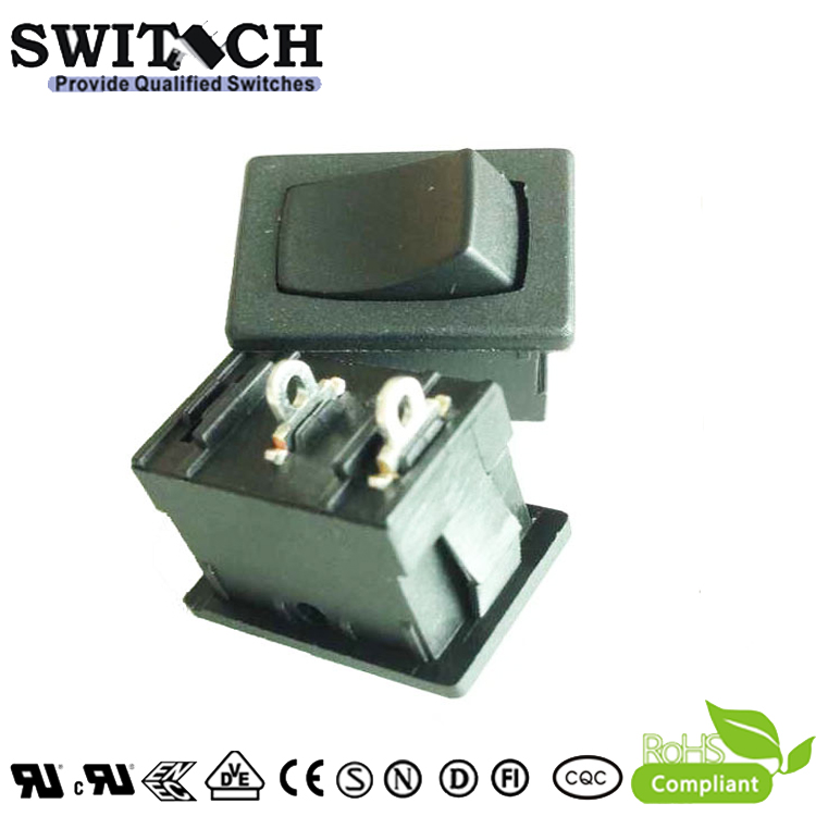 KAN-D7a-SW1H paddle switch 2 pins momentary ON-OFF SPST rocker switch