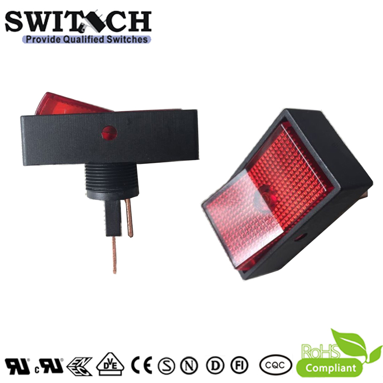 KCD1-31 paddle switch, on-off, SPST (single pole single through)  rocker switch for car