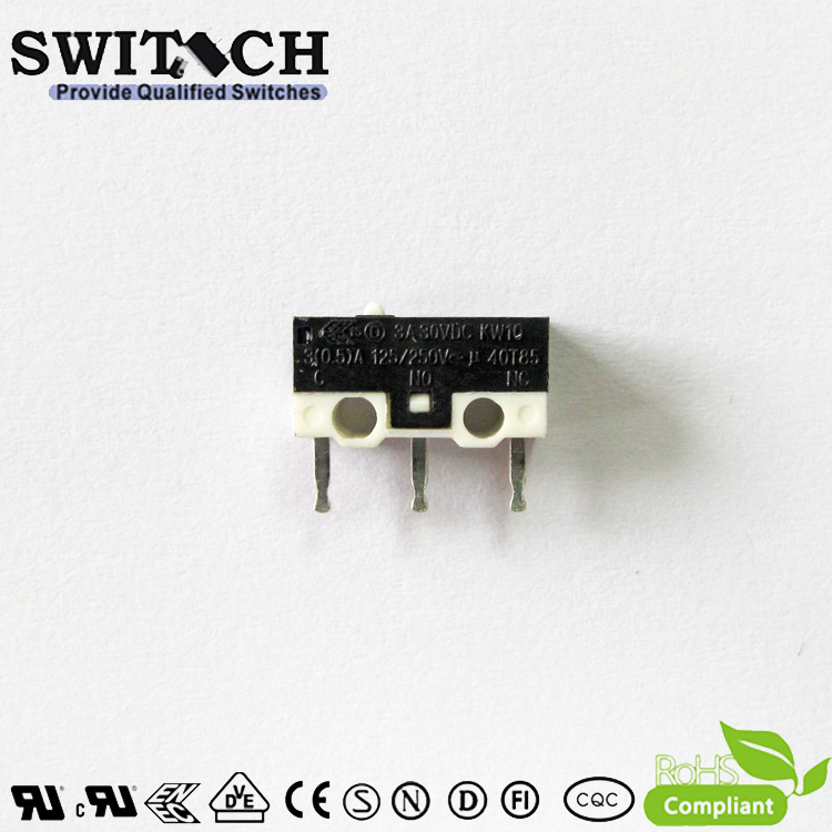 KW10-ZSW0P150  Mini Snap Action Switch with Arc Zippy Equivalent