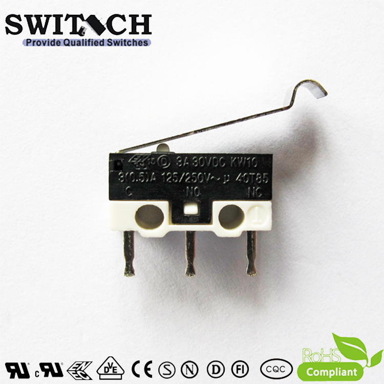 KW10-ZSW6P150  Mini Snap Action Switch with Arc Zippy Equivalent