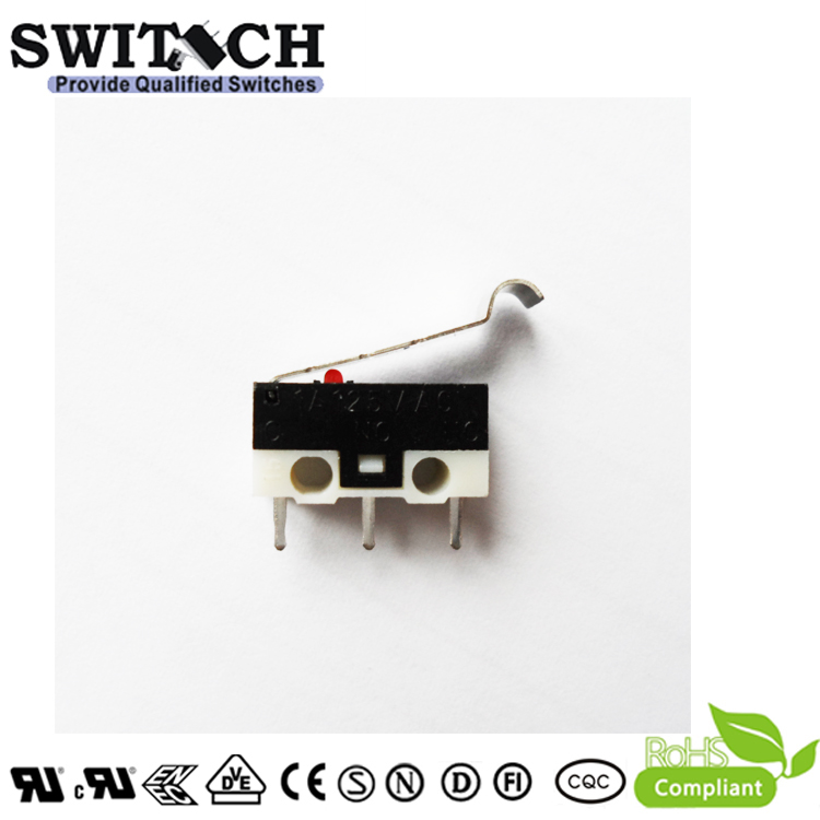 KW10-ZSW6P150-S  Mini Snap Action Switch with Roller Zippy Equivalent
