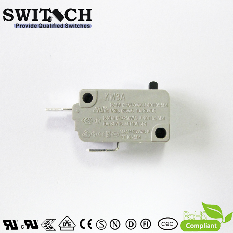KW3A-16DSW0-B200  16A KW3A Snap Action Switch Normally Open-NC