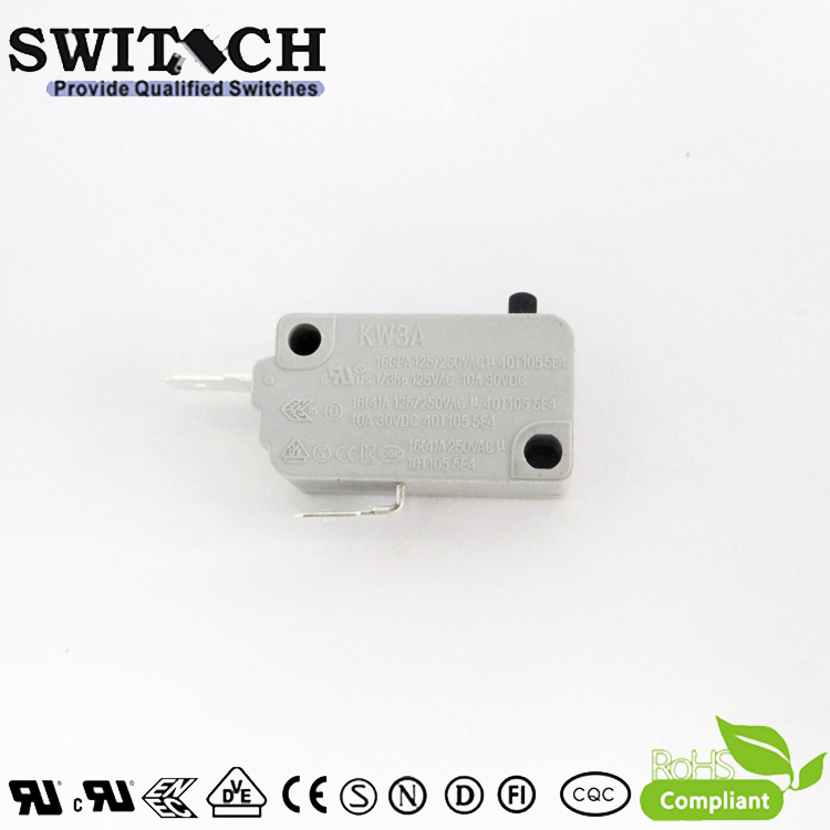 KW3A-16DSW0-C200  16A KW3A Snap Action Switch Normally Open-NO