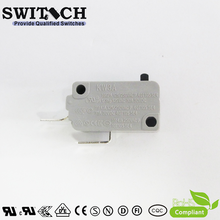 KW3A-16TSW0-A200  16A KW3A Snap Action Switch Normally Open-NO