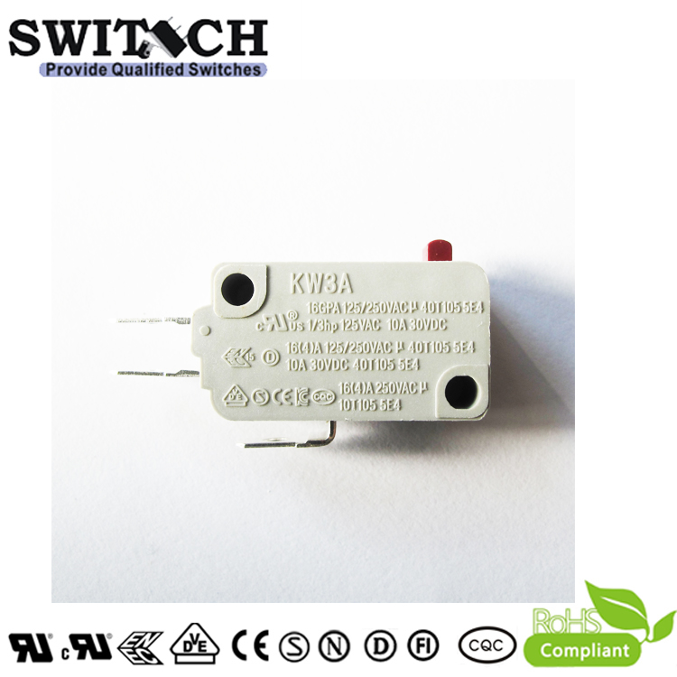 KW3A-16ZSW0-D075A  Hot Sale KW3A Micro Snap Action Switch Omron/Cherry Equivalent