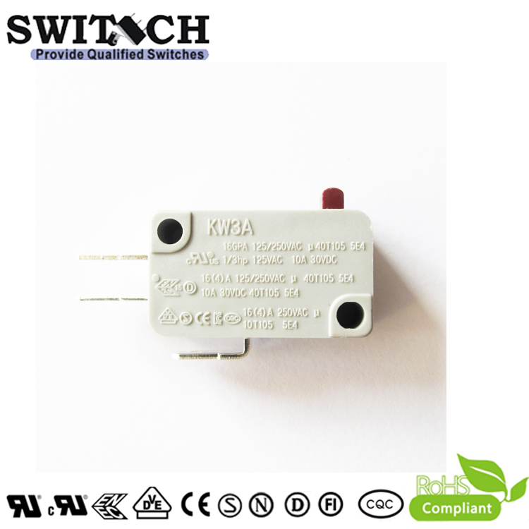 KW3A-16ZSW0B-B100B  16A Micro Switch SPDT Cherry/Omron replacement