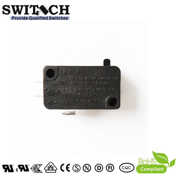 KW3A-16ZSW0B-F350-B 16A Micro Switch SPDT Cherry/Omron replacement