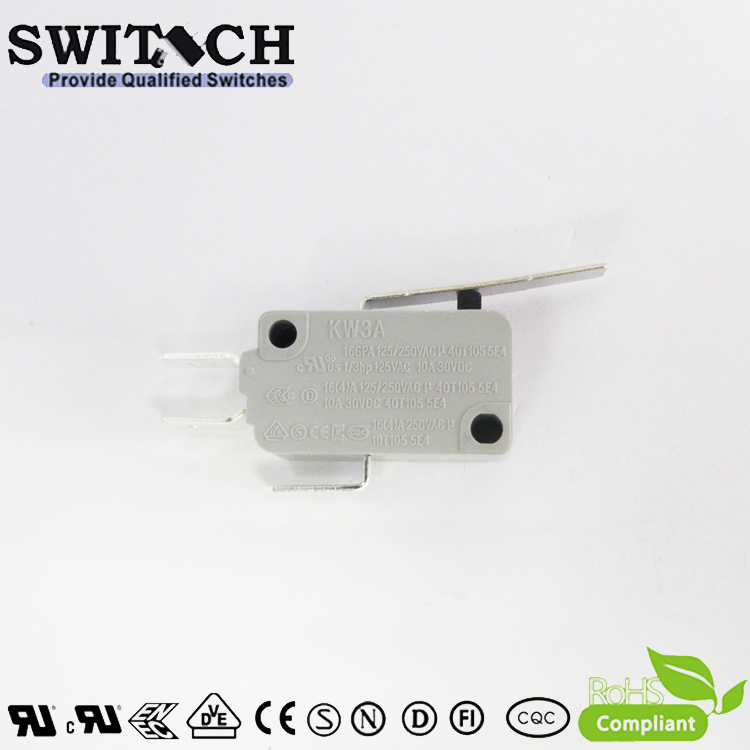 KW3A-16ZSW3-A300 Hot Sale KW3A Micro Snap Action Switch Omron/Cherry Equivalent