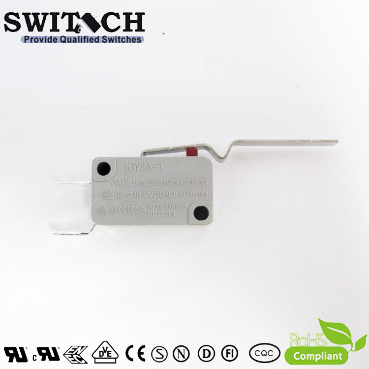 KW3A-1DXC-D150A-08 Glod plated Mini Switch