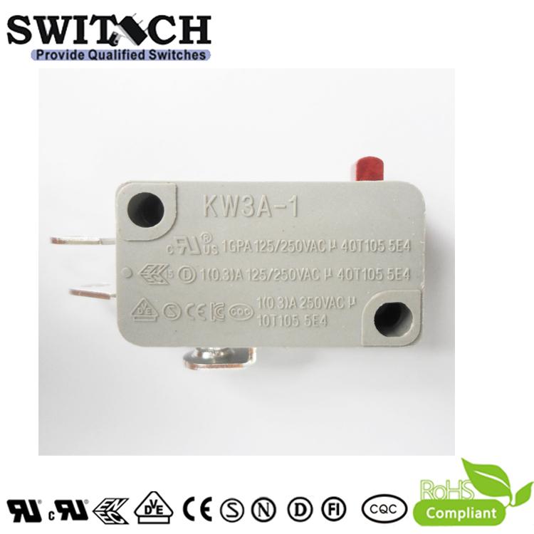 KW3A-1ZSW0B-E075A-08 Glod plated Mini Switch