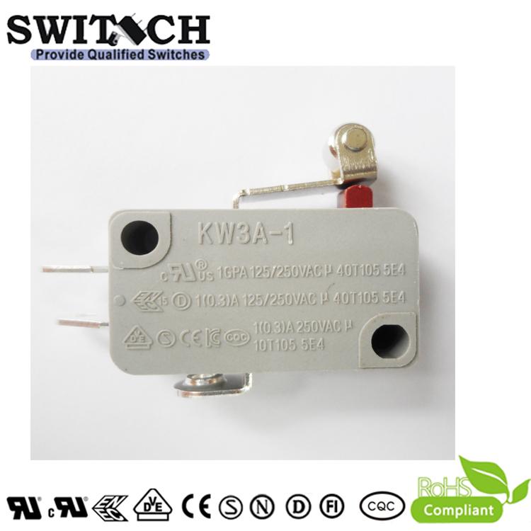 KW3A-1ZSW4B-E075A-08 Glod plated Mini Switch
