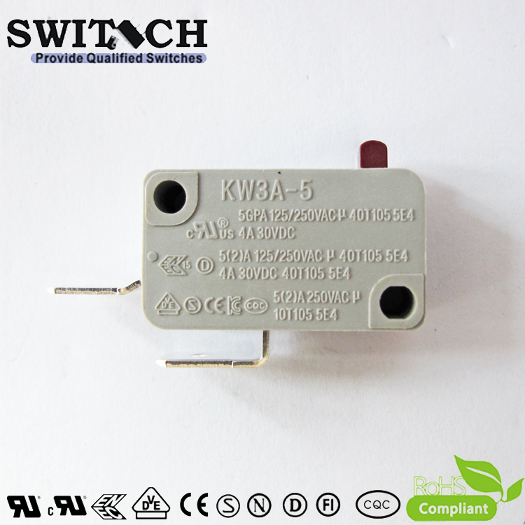 KW3A-5TSW0B-A100B Snap Action Switch 5A Omron/Cherry Subsitute