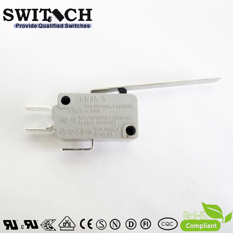 KW3A-5ZSW2-A100-08 Snap Action Switch 5A Omron/Cherry Subsitute