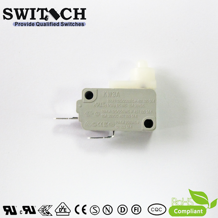KW3A-B16TSWC  Hot Sale KW3A Micro Snap Action Switch Tab Terminal
