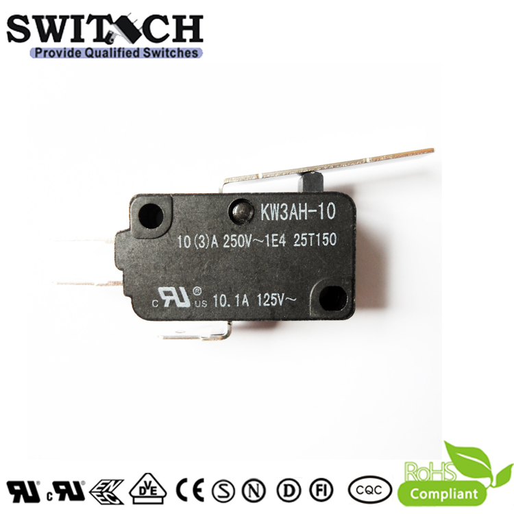 KW3AH-10ZSW3-C100P High Temperature T125 Micro Switch Omron Equivalent