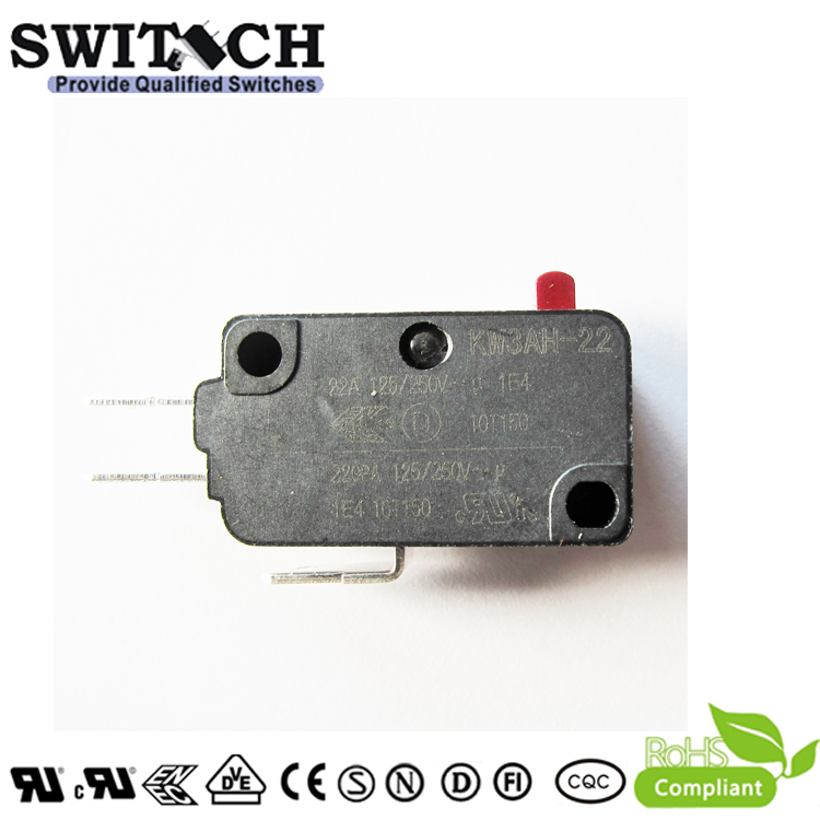 KW3AH-22ZSW0-B100B T150 High Current Snap Action Micro Switch