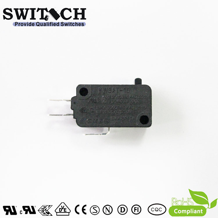 KW3AT-16ZSW3-D100  High Temperature T125 Micro Switch Omron Equivalent