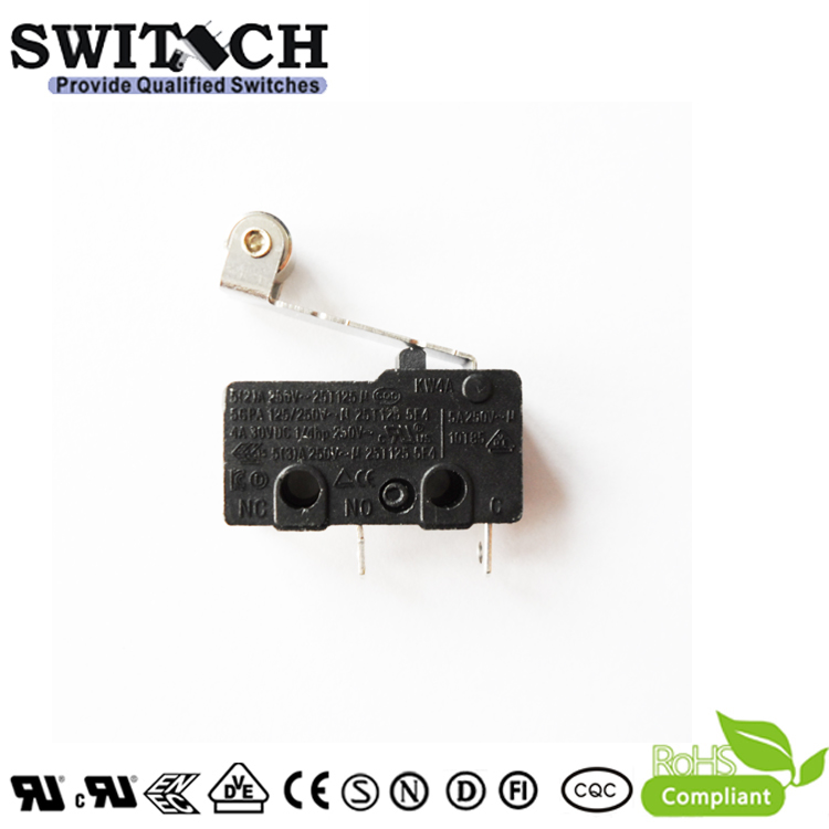 KW4A-TSW5SF200  Mini Switch from China Factory SWITECH with Roller