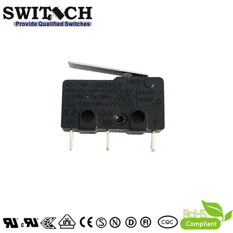 KW4A-ZSW3KSF150A  Mini Switch from China Factory SWITECH with Roller