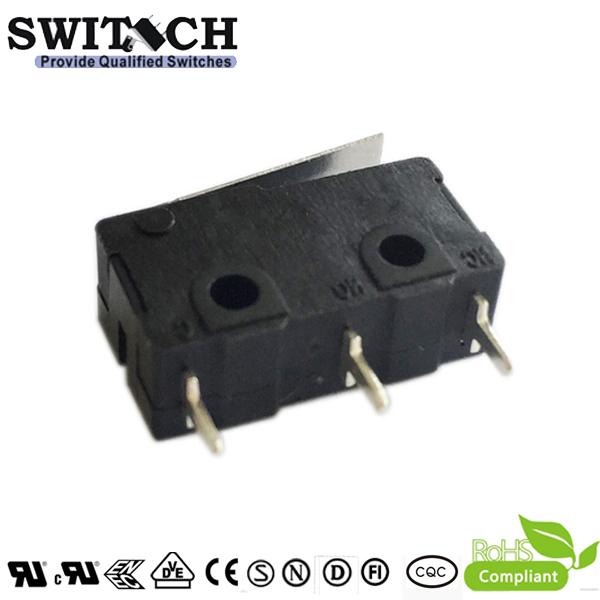 KW4A(S)-FZSW3P150-08 Glodplated Mini Switch replace SS-01GLD