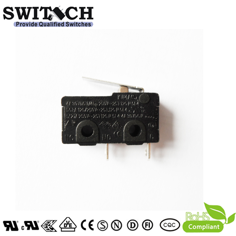 KW4A(S)-TSW1F150-08  Mini Snap Action Switch Manufacturer SWITECH SPST