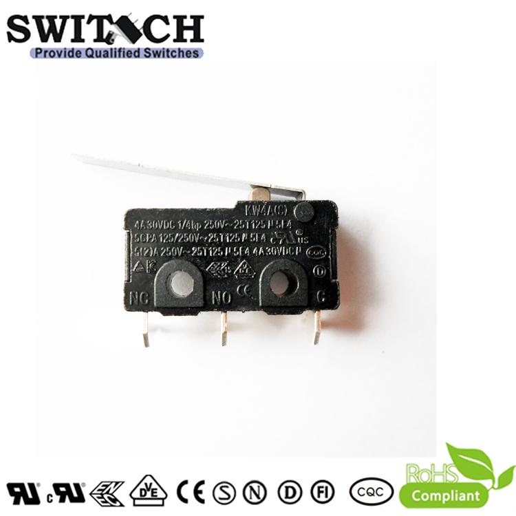 KW4A(S)-ZSWCR200   Mini Switch SPDT
