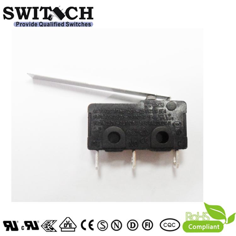 KW4A(S)-ZSWM7F040A    Mini Switch SPDT 40GF