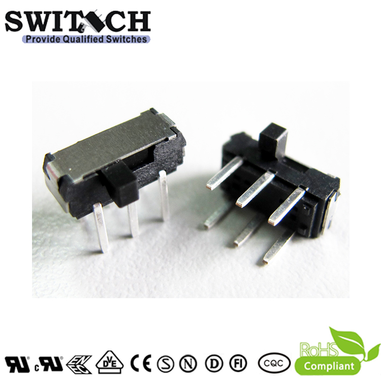 SS05A-A-200G2.0-silde switch 1P2T