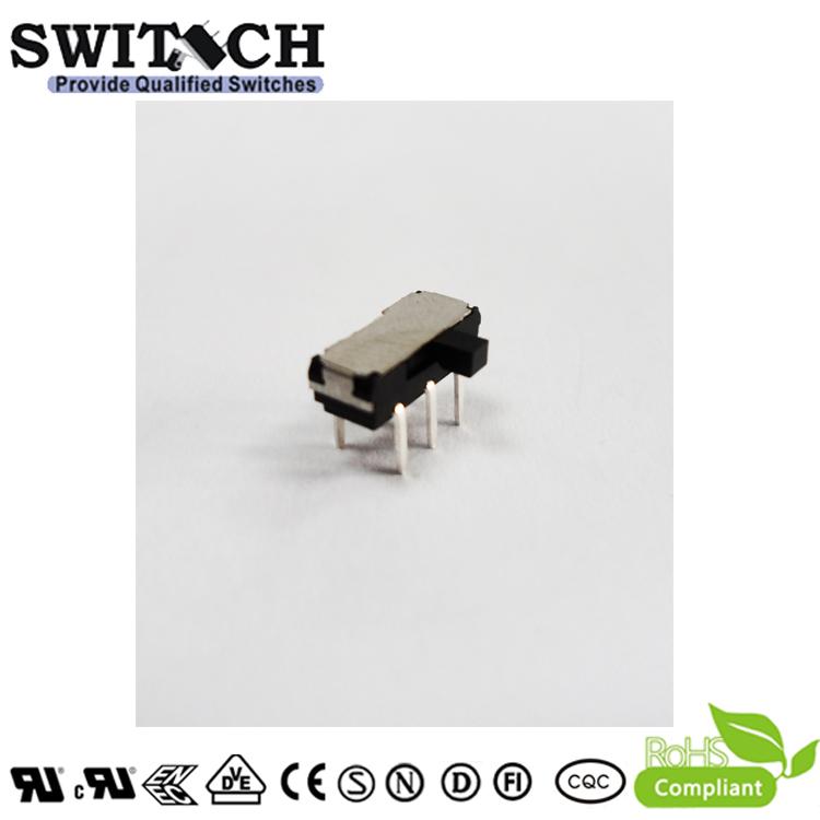 MK-SW-22D10G5 -silde switch 1P2T