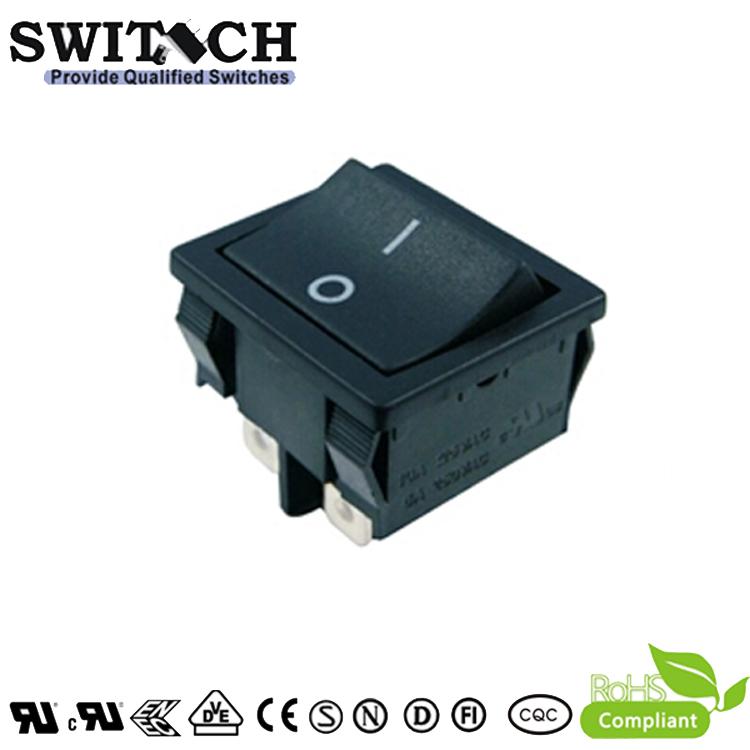 MR-4-SW210-C5N-BB rocker switch, paddle switch, ON-OFF, 4pins