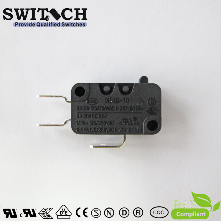 MS10-10ZSW0-A075  Mini Snap Action Switch replace Omron/Panasonic/ Cherry