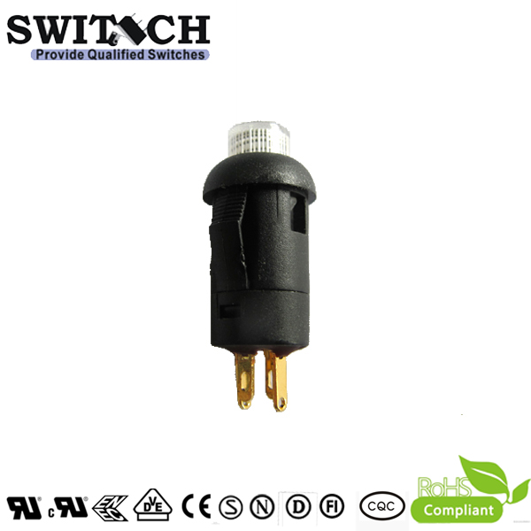 PB11 SPST momentary small current push button switch with 2 pins