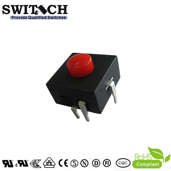 PS121-1110automotive momentary push button switch, solder Terminal,on-on-on-off
