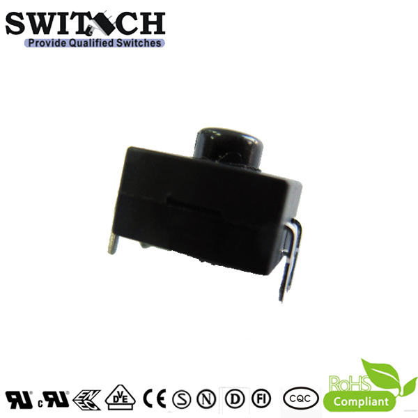 PS1212-1212 ON-OFF-ON-OFF push switch for flashlight, 5 pins, 12*12 with good quality