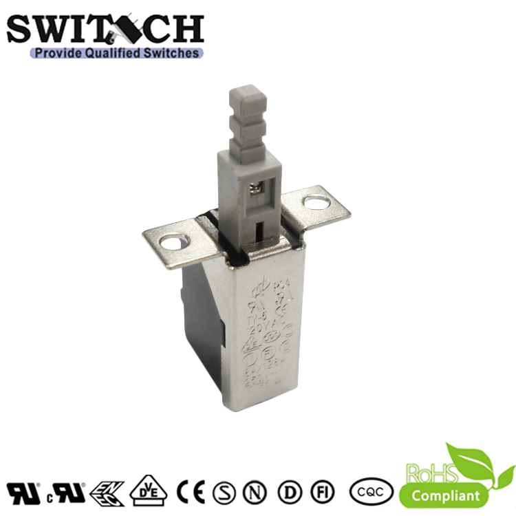 PS4-B710-60 power push button switch with 2 pins self-lock pushbutton switch