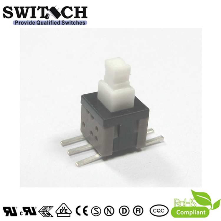 PS585-L-G SMD lock push button switch 5.8×5.8mm pushbutton switch