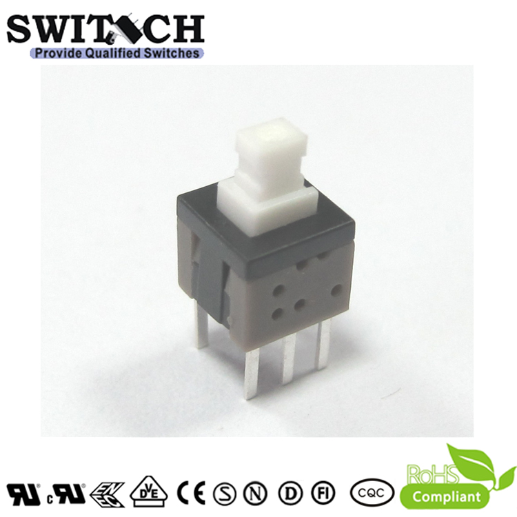 PS585-L-S lock push button switch 5.8×5.8mm pushbutton switch with long life