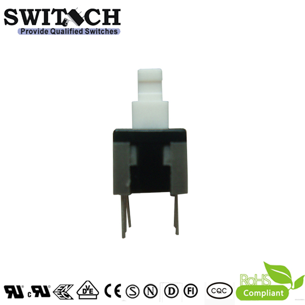 PS-585 50VDC momentary push button switch Welding in PCB board, Double-Pole Double-Through (DPDT) switch