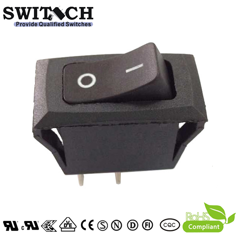R11-61SW1 SPST 2pins Momentary ON-OFF single pole rocker switch