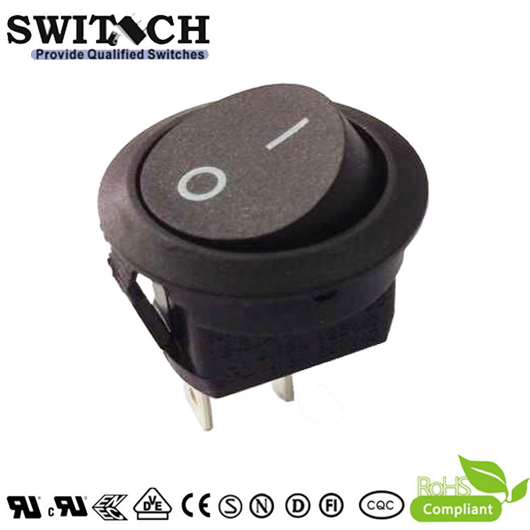 R13-31SW1.31SW4 paddle switch SPST 2pins ON-OFF rocker switch for sweeping machine