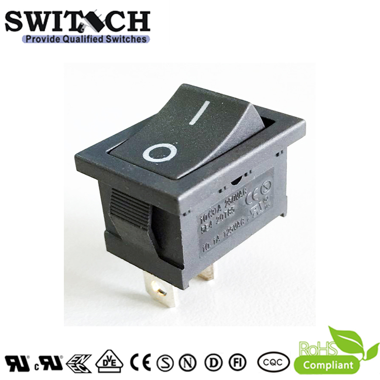 RS1-10ASW1-1BB-60 2 pins ON-OFF SPST rocker switch for ECOVRCS vacuum cleaner robot