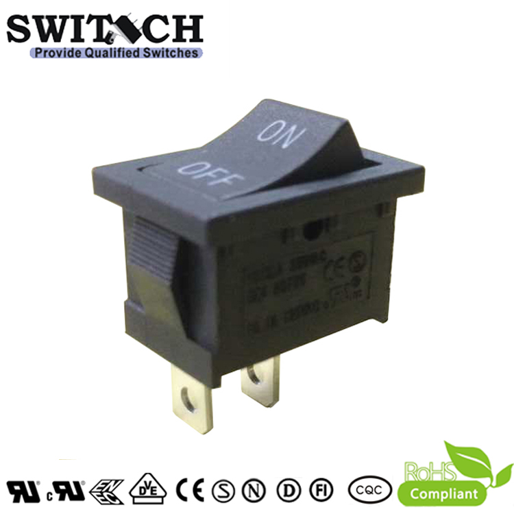 RS1-10ASW3-1BB-60 2 pins ON-OFF SPST rocker switch for ECOVRCS vacuum cleaner robot